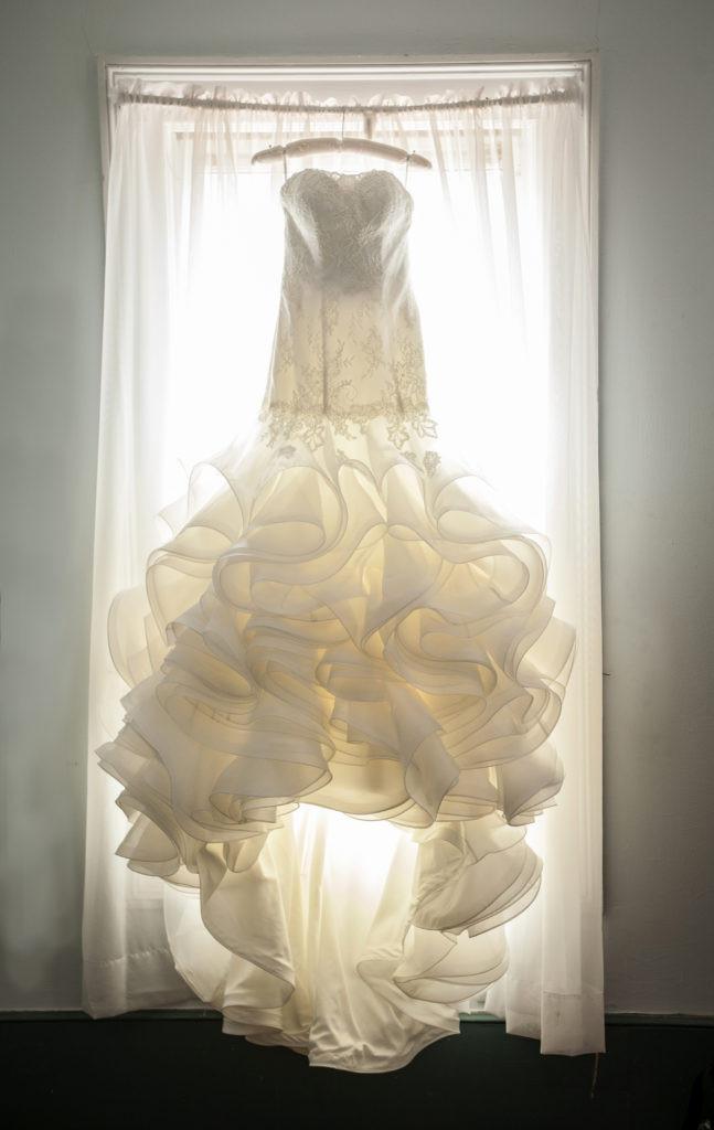 山梨のエステティックサロンイスタナロゼでブライダルエステ ドレス